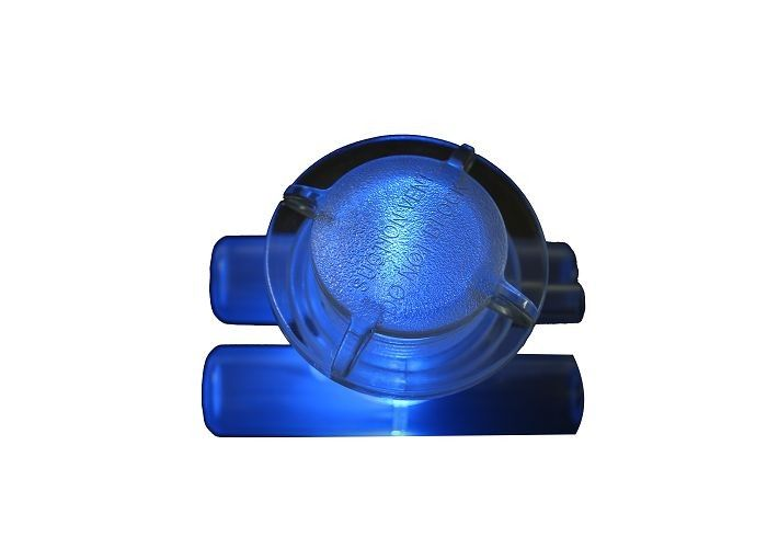 Round Shape Hot Tub Block Suction Plastic Vent With Led For Spa Drainers