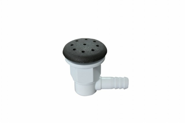 Hydro Air Injectors / Bubbler Multi-port Therapy / Bubble Nozzles For Hotel Massage Whirlpool Bathtub With 3/8 Air Hole