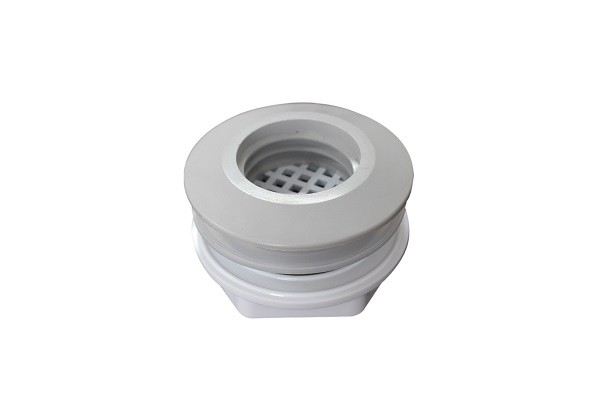 Reducer Shape Grooved Pipe Fittings Hot Tub Adapter White Pipe Connection